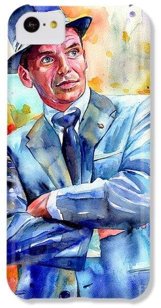 Fairy iPhone 5c Case - Frank Sinatra Young Painting by Suzann's Art