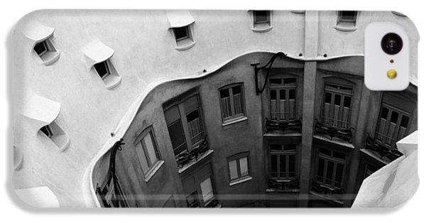 iPhone 5c Case - Gaudi by Bike Flower