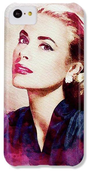 Grace Kelly, Vintage Actress IPhone 5c Case