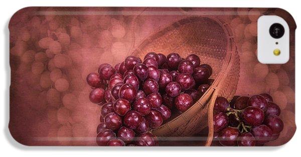 Grapes In Wicker Basket IPhone 5c Case