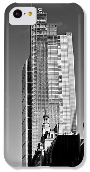 Heron Tower London Black And White IPhone 5c Case by Gary Eason