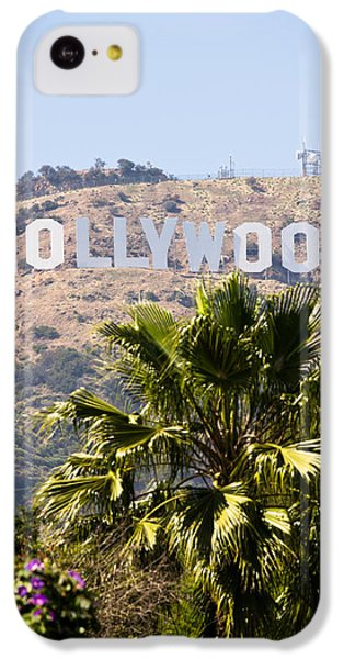 Hollywood Sign Photo IPhone 5c Case by Paul Velgos
