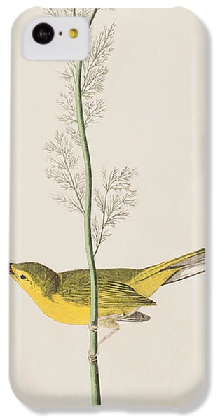 Hooded Warbler IPhone 5c Case by John James Audubon
