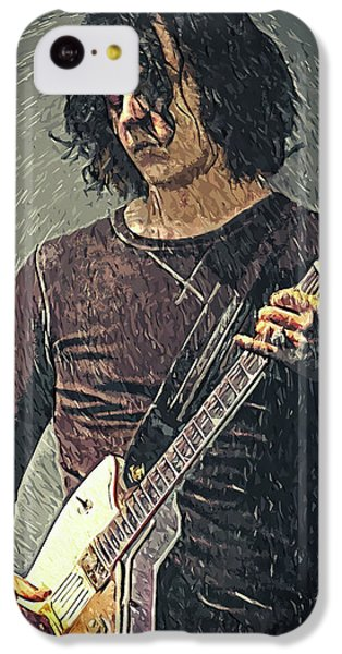 Folk Art iPhone 5c Case - Jack White by Taylan Apukovska