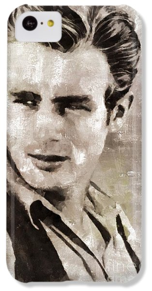James Dean Hollywood Legend IPhone 5c Case by Mary Bassett