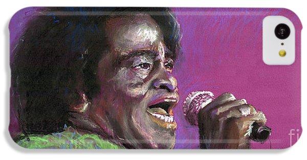 Jazz. James Brown. IPhone 5c Case by Yuriy  Shevchuk