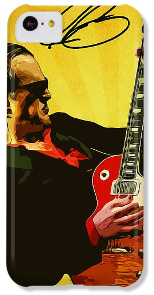 Joe Bonamassa IPhone 5c Case by Semih Yurdabak