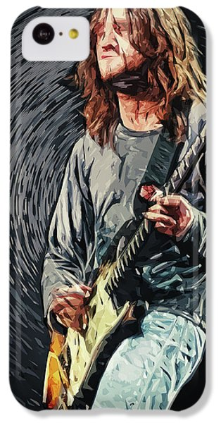 John Frusciante IPhone 5c Case by Taylan Apukovska
