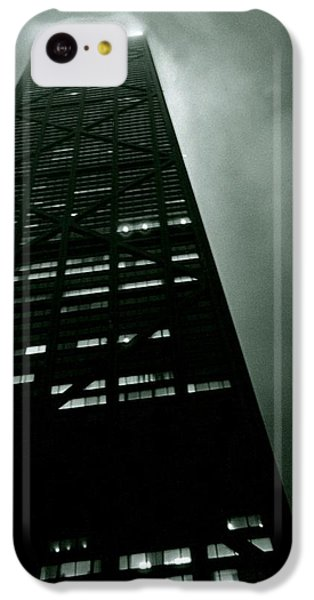 Hancock Building iPhone 5c Case - John Hancock Building - Chicago Illinois by Michelle Calkins