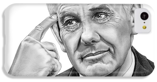 Johnny Carson iPhone 5c Case - Johnny Carson by Murphy Elliott