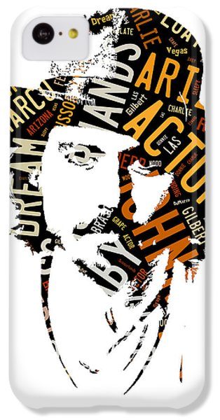 Johnny Depp Movie Titles IPhone 5c Case