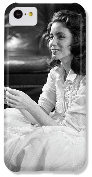 June Carter, 1956 IPhone 5c Case by The Harrington Collection