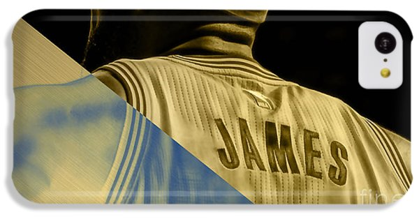 Lebron James Collection IPhone 5c Case by Marvin Blaine