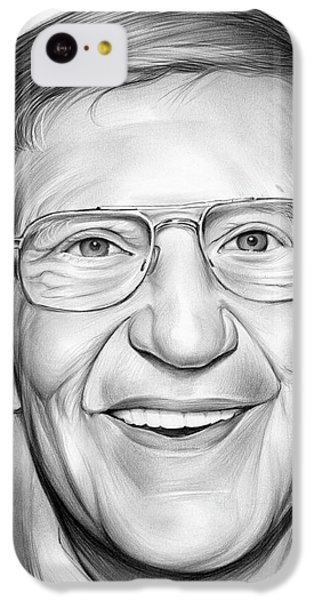 Lou Holtz IPhone 5c Case by Greg Joens