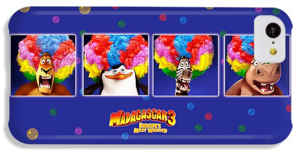 Design iPhone 5c Case - Madagascar 3 Europe's Most Wanted by Maye Loeser