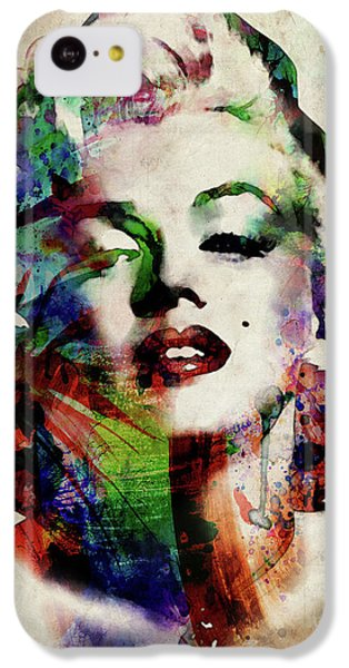 Marilyn IPhone 5c Case by Michael Tompsett