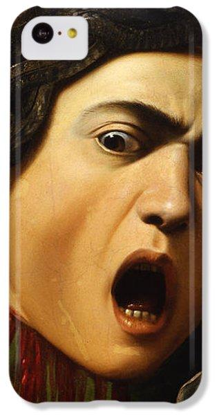 Medusa IPhone 5c Case by Caravaggio