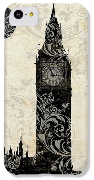 Moon Over London IPhone 5c Case by Mindy Sommers
