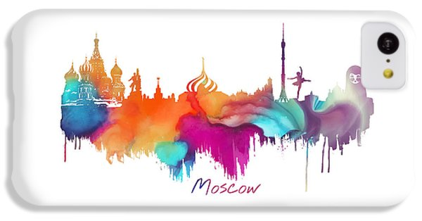 Moscow  IPhone 5c Case by Justyna JBJart