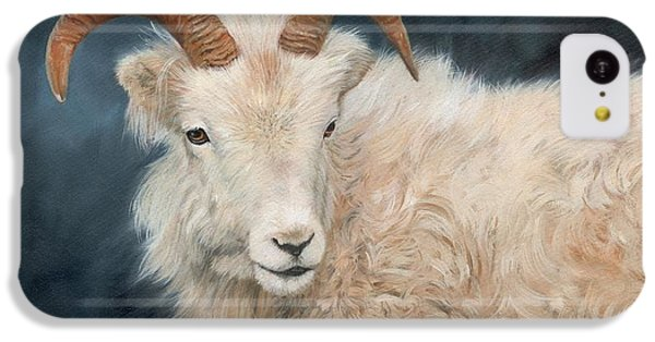 Mountain Goat IPhone 5c Case by David Stribbling