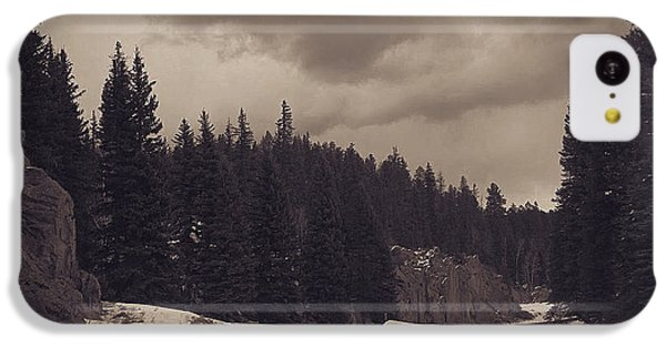 iPhone 5c Case - National Park by Bike Flower