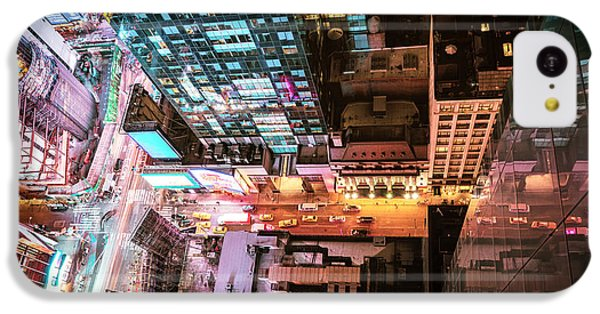 New York City - Night IPhone 5c Case by Vivienne Gucwa