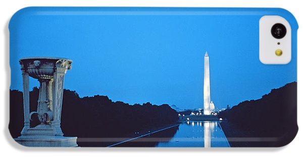 Night View Of The Washington Monument Across The National Mall IPhone 5c Case by American School