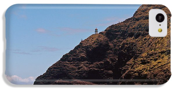 IPhone 5c Case featuring the photograph Oahu - Cliffs Of Hope by Anthony Baatz
