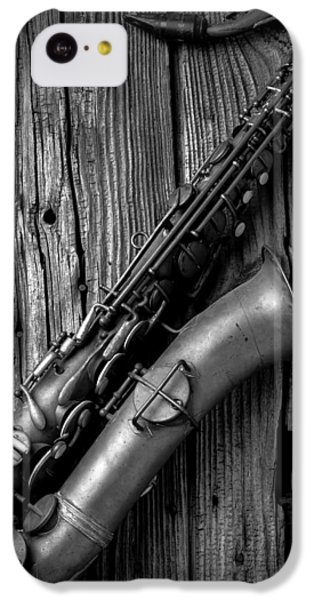 Old Sax IPhone 5c Case by Garry Gay
