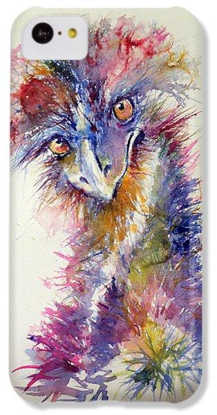 Ostrich iPhone 5c Case - Ostrich by Kovacs Anna Brigitta