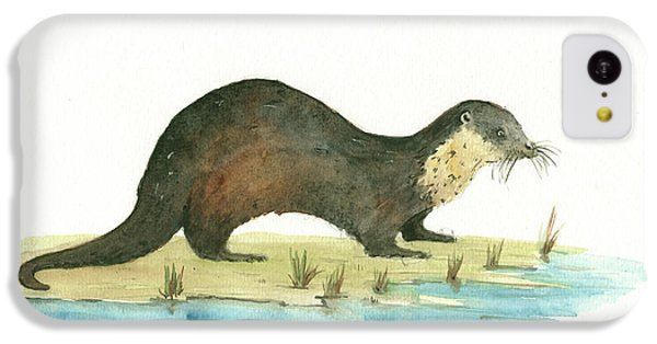 Otter IPhone 5c Case by Juan Bosco