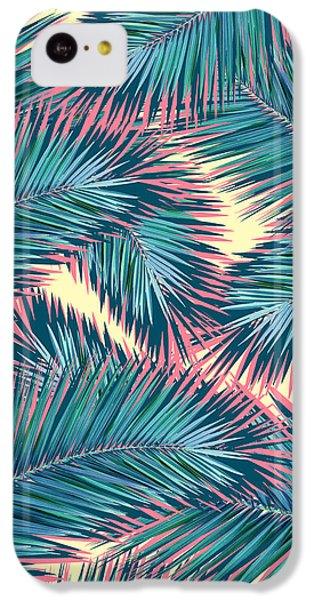 Palm Trees  IPhone 5c Case by Mark Ashkenazi
