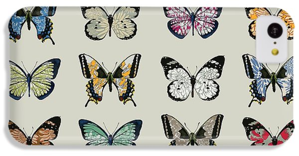 Papillon IPhone 5c Case by Sarah Hough