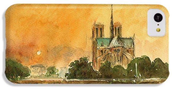 Paris Notre Dame IPhone 5c Case
