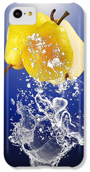 Pear Splash Collection IPhone 5c Case by Marvin Blaine