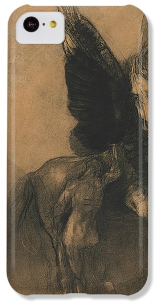 Pegasus And Bellerophon IPhone 5c Case by Odilon Redon