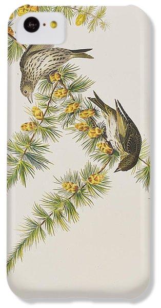 Pine Finch IPhone 5c Case by John James Audubon