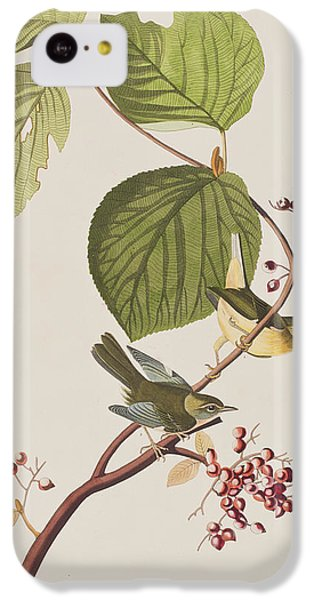 Pine Swamp Warbler IPhone 5c Case by John James Audubon
