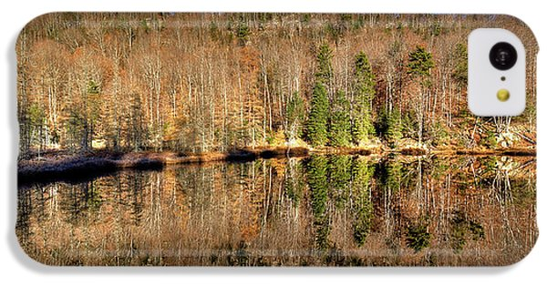 IPhone 5c Case featuring the photograph Pond Reflections by David Patterson