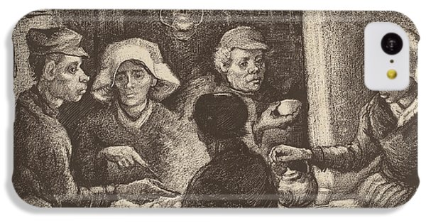 Potato Eaters, 1885 IPhone 5c Case by Vincent Van Gogh