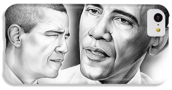 President Barack Obama IPhone 5c Case by Greg Joens