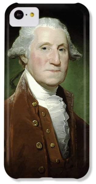 President George Washington  IPhone 5c Case by War Is Hell Store
