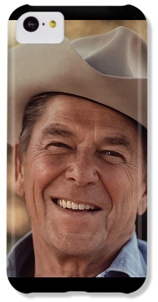 President Ronald Reagan IPhone 5c Case by War Is Hell Store