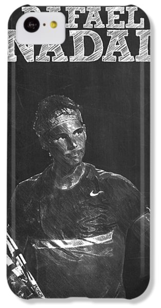 Rafael Nadal IPhone 5c Case by Semih Yurdabak