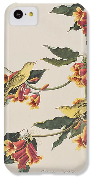 Rathbone Warbler IPhone 5c Case by John James Audubon