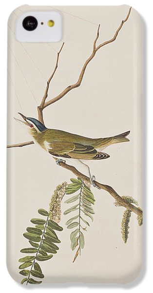 Red Eyed Vireo IPhone 5c Case by John James Audubon