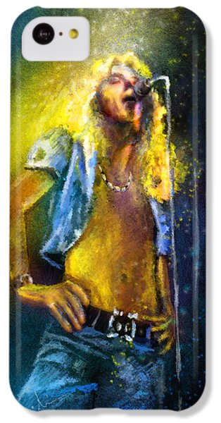Robert Plant 01 IPhone 5c Case by Miki De Goodaboom