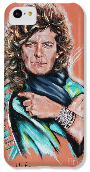Robert Plant iPhone 5c Case - Robert Plant by Melanie D
