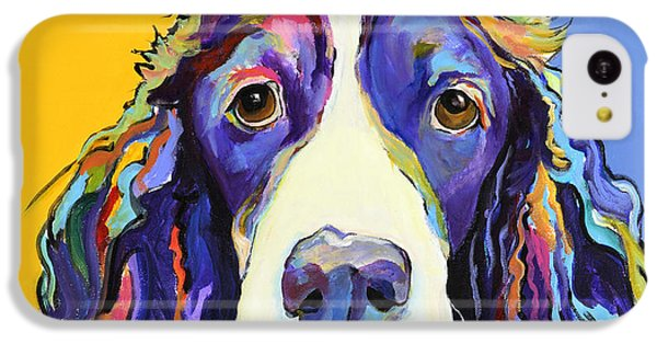Dog iPhone 5c Case - Sadie by Pat Saunders-White