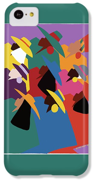 iPhone 5c Case - Sisters Of Courage by Synthia SAINT JAMES